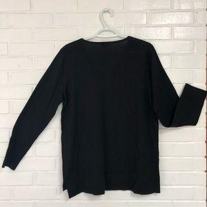 J.Jill Black sweater size medium
